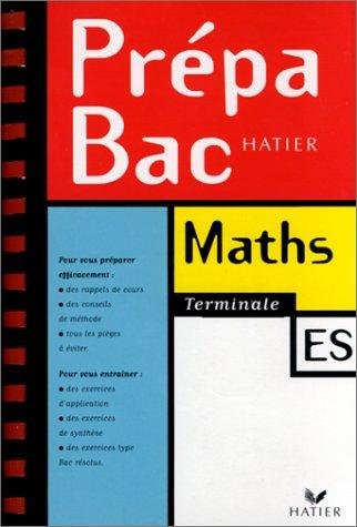 Prépabac mathématiques, terminale ES