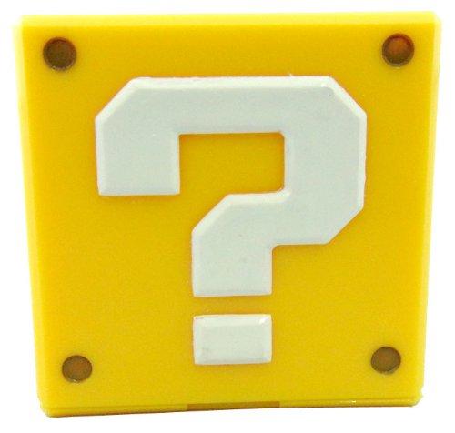 Super Mario 3DS / DS Modul Halter: Fragezeichen Block / ? Block (für 5 Module) 5 x 5 cm (Ds-halter)