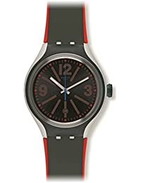 Swatch Herren-Armbanduhr Analog Quarz Silikon YES4006