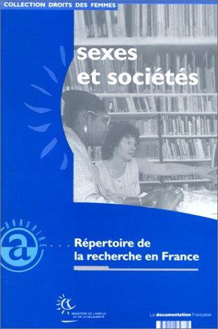 Sexes et sociétés : Répertoire de la recherche en France