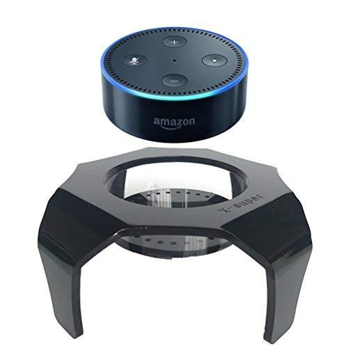 x-super Lautsprecher Standfuß für Amazon Echo Dot 2Alexa Schutz Zubehör Schreibtisch Halterung Gurad Ständer (passt Echo Dot 2nd & 1. Generation)