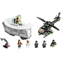 LEGO Super Heroes - Iron Man: Malibu Mansion Attack, pack de figuras de acción (76007)