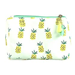 Pineapple Print Multiuse Bag Tassels with a 6-pc Manicure Set