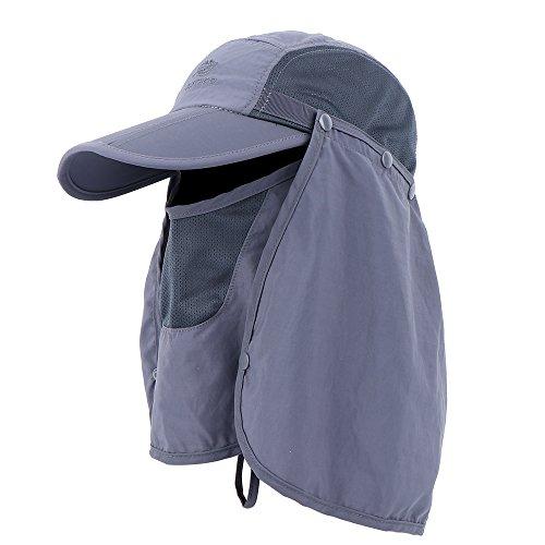 Anyoo Gorra béisbol Plegable Sombrero Gran protección