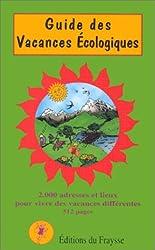 Guide des vacances écologiques (édition 2000-2001)