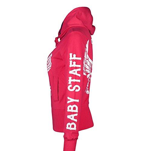 Babystaff - Pull de sport - Femme rose bonbon