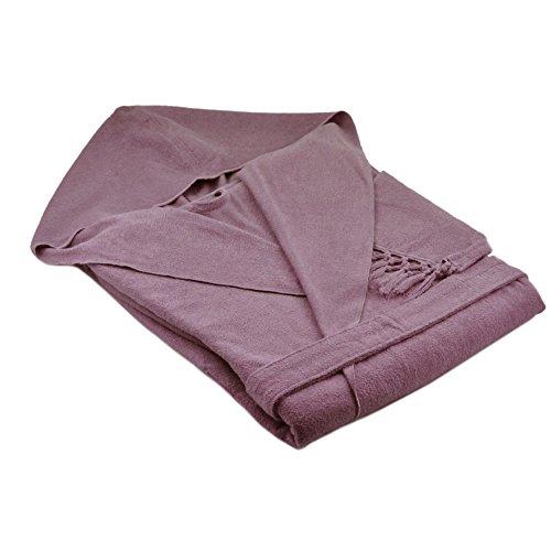 HAMAM 12A543606742 A Meyzer tassels Bademäntel, violett Violett
