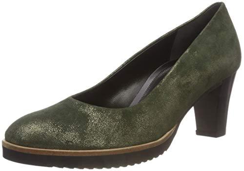 Gabor Shoes Damen Comfort Fashion Pumps, Grün (Olive (S.S/C A.S) 94), 38 EU -