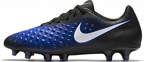 Nike  844411-015, chaussures de football homme Schwarz/Überragendes Blau/Blautönung/Weiß