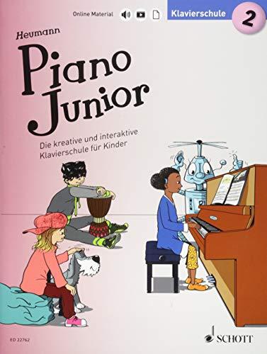 Piano Junior: Klavierschule 2: Die kreative und interaktive Klavierschule für Kinder. Band 2. Klavier. (Piano Junior - deutsche Ausgabe)