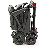 Drive Devilbiss Automatic Folding Scooter by Remote Control - 4 Wheel Electric Scooters for Adult Red