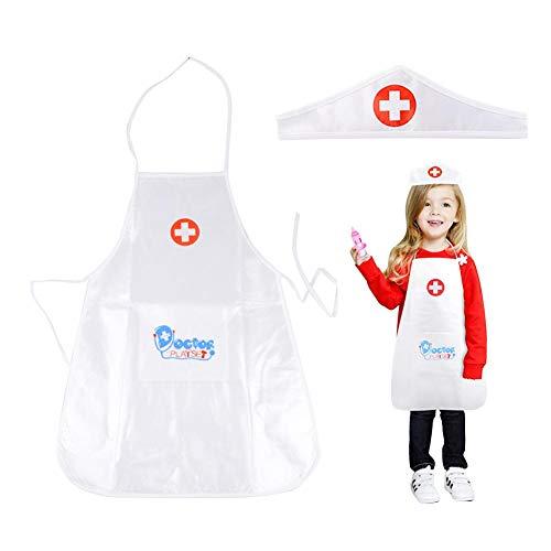 Ridecle Baby Kostüm Krankenschwester Kostüm, Kinder Vintage Krankenschwester Kostüm