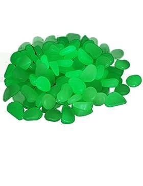 [Patrocinado]TININNA 100 piedras decorativas luminosas que brillan en la oscuridad ,Guijarro Piedras Fluorescentes Luminoso...