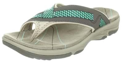 Hi Tec  Harmony Toe Ring W` Flip-Flops Womens  Brown Braun (Dk.Taupe/Lt.Taupe/Tiffany 041) Size: 3.5 (36 EU)