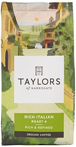 Taylors of Harrogate Rich Italian Ground Coffee, 227 g 413MPeoXWtL