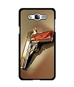 Crazymonk DIGITAL PRINTED BACK COVER FOR SAMSUNG GALAXY ON 7