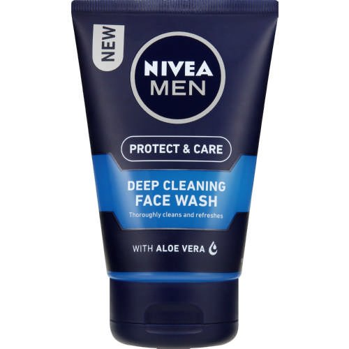 Nivea Men Deep Cleansing Face Wash, 100 ml – Pack of 3