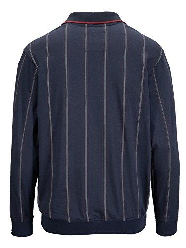 Herren Blousonshirt in garngefärbter Qualität by BABISTA Marine