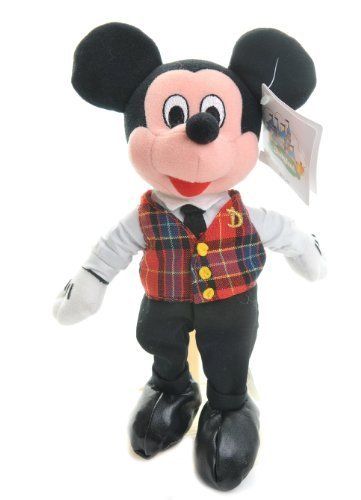 Disneyland Mickey Tour Guide mini bean bag retired [Toy] by Disney