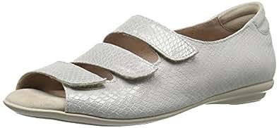 BeautiFeel Women's Ariel Dress Sandal, Silver, 38 EU/7-7.5 M US