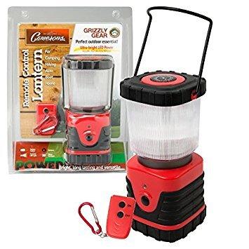 Grizzly Gear LED Teelichter innen/außen mit Fernbedienung und Kompass - Fernbedienung Laterne
