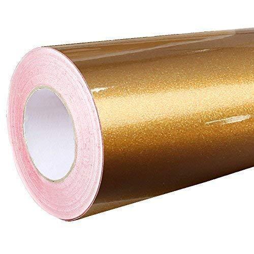 *Rapid Teck® Glanz Folie – 092 Kupfer – Klebefolie – 5m x 63cm – Plotterfolie- Folie selbstklebend – auch als Moebelfolie – Klebefolie*