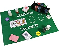 Casino Style Texas Hold 'Em Poker Set In Tin