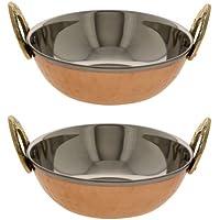 Serving bowl karahi set di ware servire cibo indiano di 2