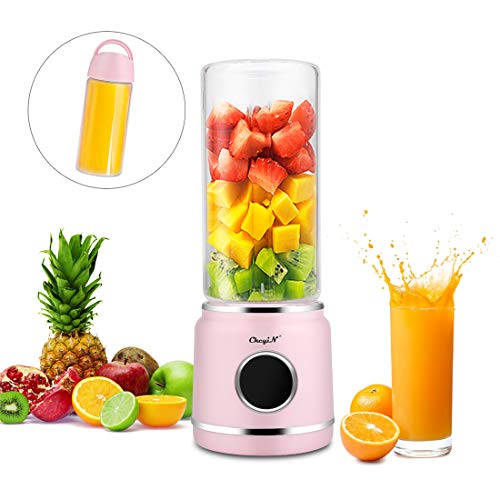 Blender de Jus, Presse-agrumes Rechargeable USB,Mélangeur de Fruits Portable -Convient aux Fruits et aux Légumes, Pour la Fabrication de Jus de Fruits/Smoothies/Shakes Etc