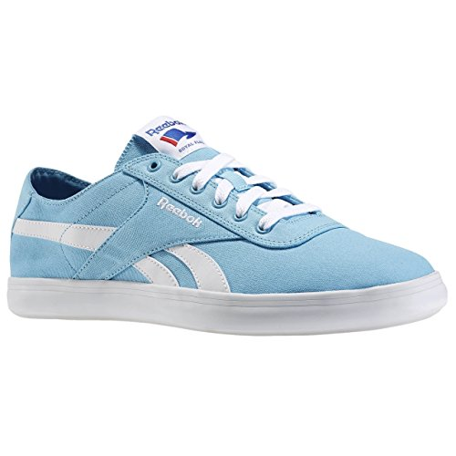Reebok Royal Global Vulc, Chaussures de Sport Homme Bleu / Blanc (Blue Splash / White / Coll Royal)