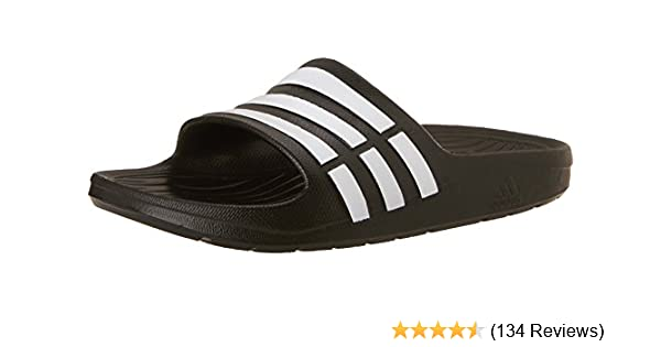 3ca4f35930f06 adidas Children s Duramo Slide Sandals  Amazon.co.uk  Shoes   Bags