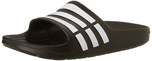 adidas Children's Duramo Slide Sandals, Black (Black/Running White Ftw/Black), 4 UK (36 EU)