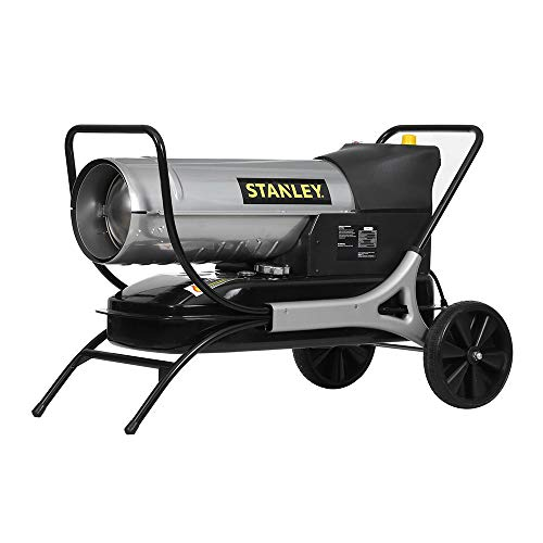 Stanley Calefactor de Aire Forzado de parafina/diésel ST-125T-KFA-E Enchufe de la EU