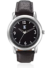 TSX Analog Watch With Leather Strap WATCH-034