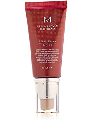 MISSHA M Perfect Cover BB Cream No.23 Natural Beige SPF42 PA+++ (50ml) by MISSHA Korean Beauty