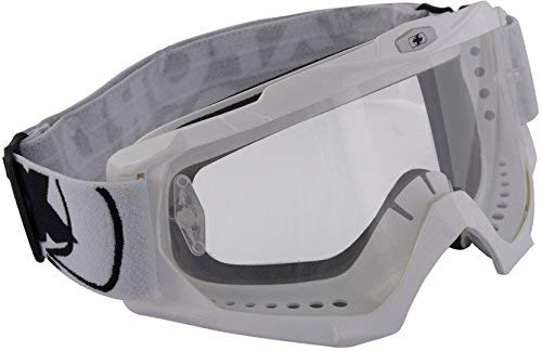 Oxford Assaut Pro Motocross Adulte Lunettes Blanc Brillant OX202