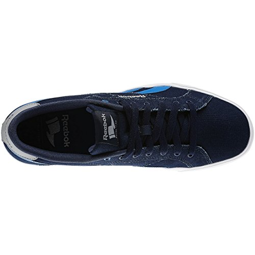 Reebok Herren Royal Complete Lcn Tennisschuhe, Beige Blau / Grau / Weiß (Collegiate Navy / Blue Sport / Tin Grey / Whit)
