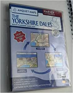 Anquet CD-Rom - The Yorkshire Dales (Harvey Map 1:25,000)