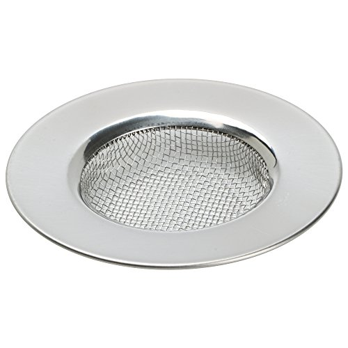 trixes-sink-strainer-for-shower-bath-or-kitchen-sinks-stainless-steel-sink-drain-filter-3-76cm-outer