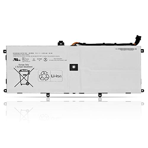 """K KYUER 48Wh 6320mAh VGP-BPS36 Laptop Akku Replacement für Sony Vaio Duo 13 Convertible Touch 13.3"""" 2-in-1 Ultrabook SVD1321M2E SVD13233CXB SVD13215PXB SVD132A14L SVD13211CG SVD1321BPXB SVD13216PW"""