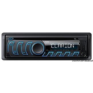 Clarion-cz104e-Auto-Stereo-Haupteinheit-Radio-CD-Player-USB-MP3AUXiPodiPhone