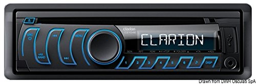 Clarion-cz104e-Auto-Stereo-Haupteinheit-Radio-CD-Player-USB-MP3AUXiPodiPhone