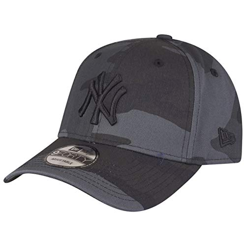 New Era League Essential 9Forty Adjustable Cap NY Yankees Grau Camouflage, Size:ONE Size
