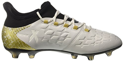 adidas X 16.2 Fg, Entraînement de football homme Blanc (Ftwr White/core Black/gold Metallic)
