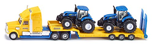 Preisvergleich Produktbild Siku 1805 - LKW mit New Holland Traktoren