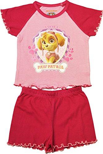Paw Patrol - Pijama - Manga corta - para niña Rosa rosa 2 años