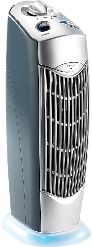 newgen medicals Rauchverzehrer: Professioneller 4in1-Luftreiniger mit Ionisator, für Räume bis 20 m² (Luftreiniger mit UV Licht)