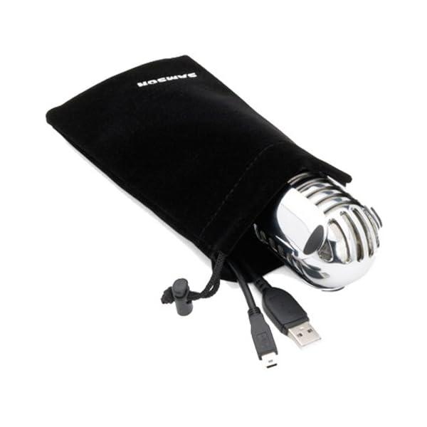Samson-microfono da studio, con USB