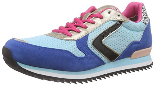 Tamaris Damen 23705 Sneakers Blau (ROYAL COMB 878)