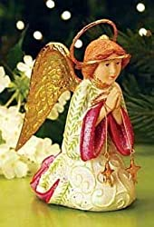 "5"" Patience Brewster Krinkles Kneeling Nativity Angel Christmas Figurine By Patience Brewster"
